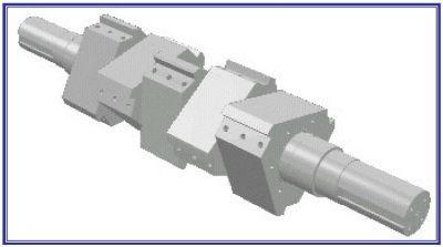 Cumberland 15-knife hog rotor granulator design