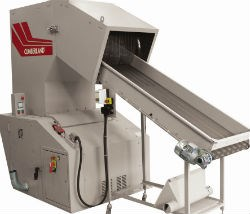 granulator conveyor hopper