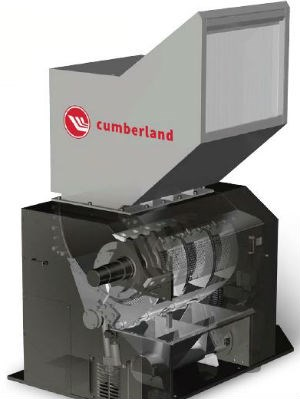 plastics granulator cutaway