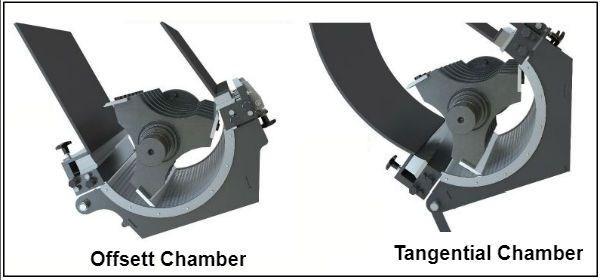 granulator cutting chambers