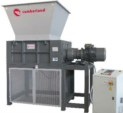 Cumberland Shredder configured with an electric drive type