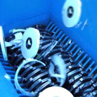 Cumberland custom shredder infeed hopper