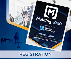 Learn from Injection Molding's Thought Leaders: Register Now for Molding 2020