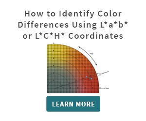 How to identify color differences using Lab or LCH coordinates