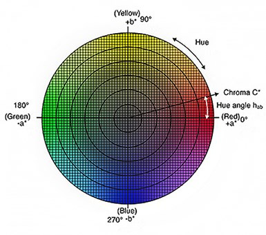 CIE Color Space Chart