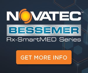 Novatec Bessemer Rx-SmartMED Vacuum Tanks