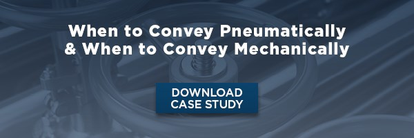 Case Study: When to convey Pneumatically and when to convey mechanically