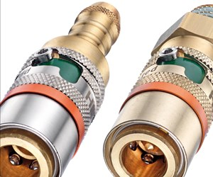 Hasco safety couplings have automatic locking feature.