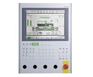 KEBA KePlast controls now standard on Gluco vertical injection presses.