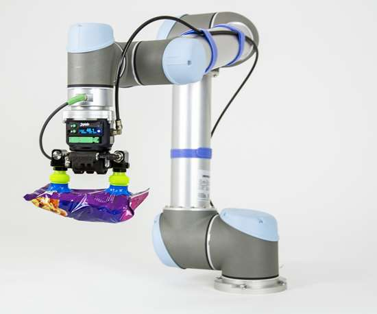Piab piCOBOT vacuum gripper fits any type of cobot.