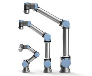 UR e-Series cobots are more precise