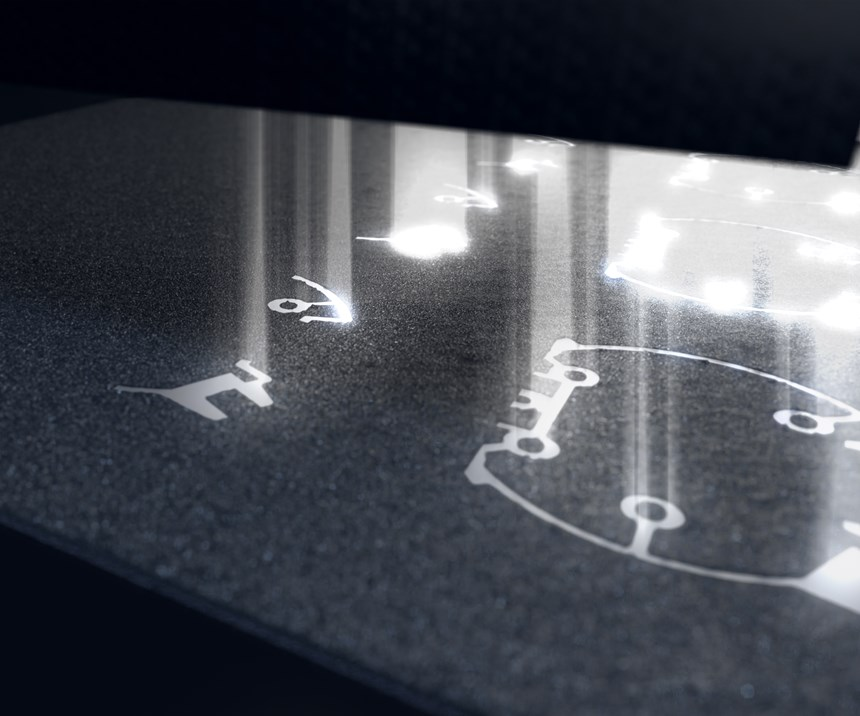 EOS laser profusion technology