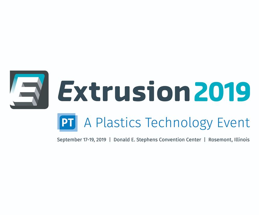 Extrusion 2019 Conference (logo) Sept. 17-19 in Rosemont, Ill.