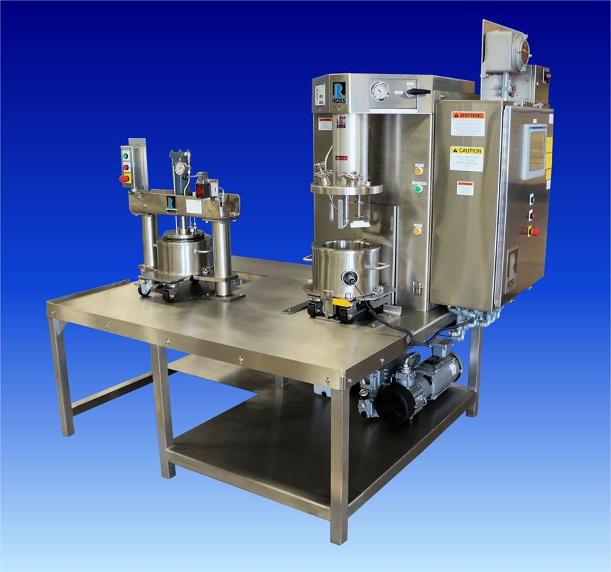 Ross Mixer Can Also Extrude Strands
