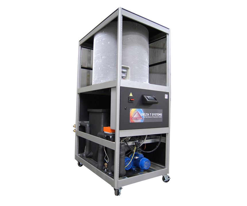 """Delta T Systems introduces an """"industry-first"""" combination chiller and TCU in one package."""