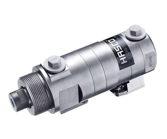 Hasco positive locking cylinder.