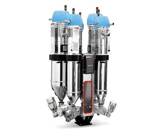 Moretto DLK Gravico blender & extrusion control