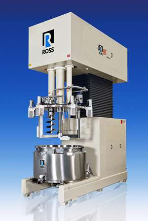 Ross Customized Triple-Shaft Mixer