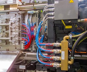 """Mold cooling is considered to be one of the """"last frontiers"""" of injection molding process control."""