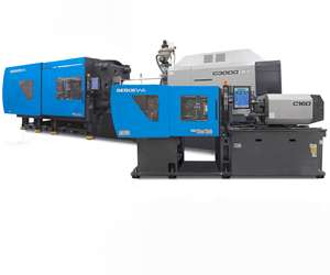 Sumitomo Demag SE Series all-electric injection molding machines.