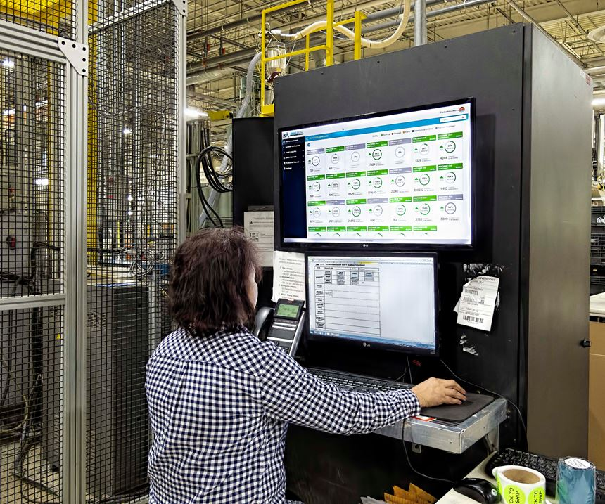 The Industry 4.0 system exists to create visibility and efficiencies that didn't exist before.