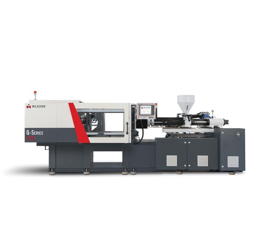 New Q-Series servohydraulic toggle press, 170 tons.