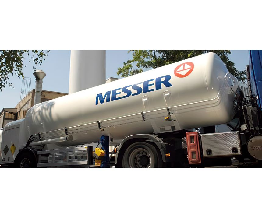 Messer is a German specialist in industrial gases.