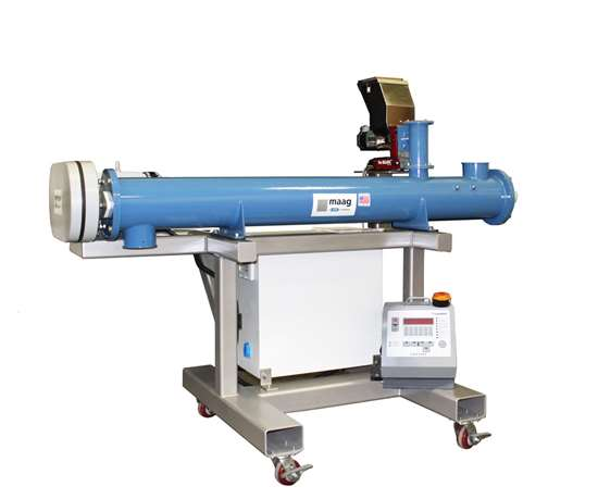 Inline Mixer for Pulverizers