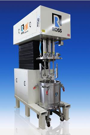 Ross Mixer for Temperature-Critical Applications