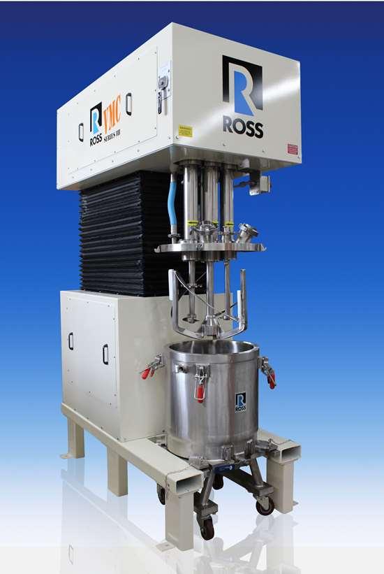 Ross Mixer for Temperature-Critical Applications