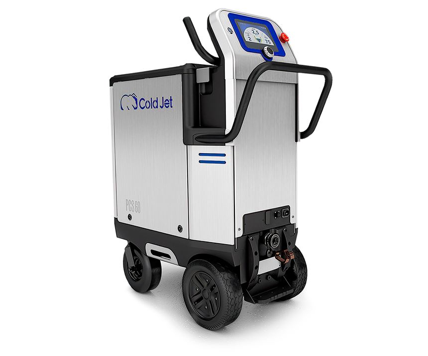 New Cold Jet PCS 60 dry-ice blaster is more versatile and efficient.