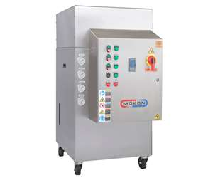 New Mokon Pura-therm sanitary line includes combination heating (TCU) and chiller units.
