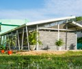 School built out of recycled plastics