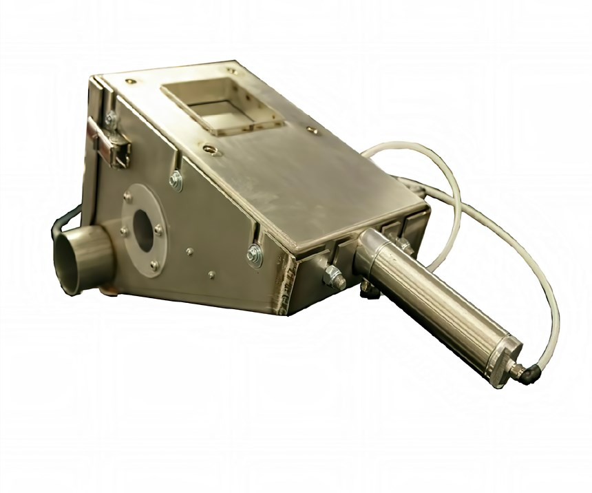 If you want to use a purging system, care must be taken in sizing the conveying pump.