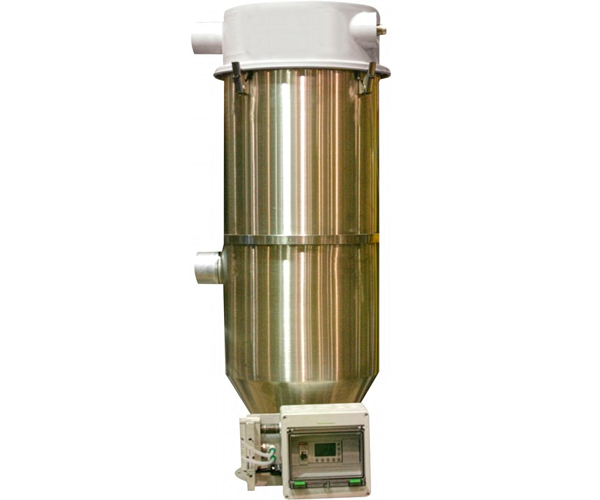 Selecting the correct type and size of vacuum receiver for the process is important in order to keep the conveying system running at maximum efficiency.