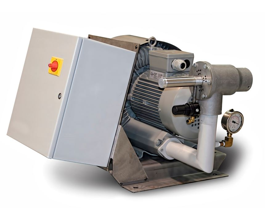 Several types of vacuum pumps that can be used for central conveying. Each typehas advantages and disadvantages,.