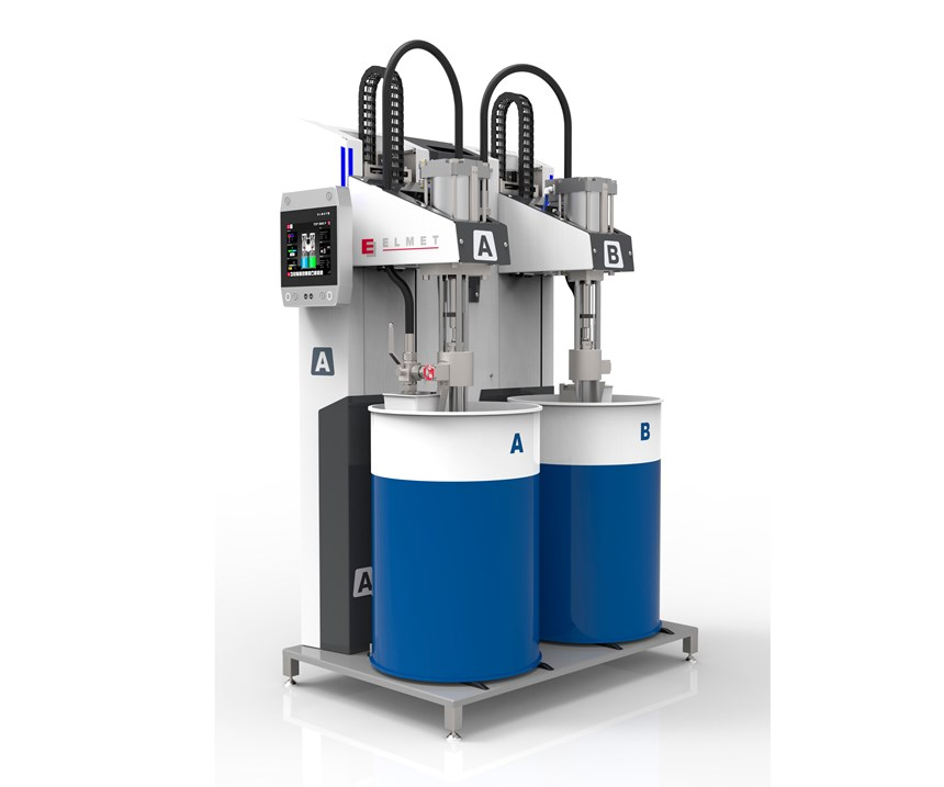 "Elmet's TOP 5000 P high-precision dosing system was a ""game-changer"" in enabling commercialization of the LSR Select technology."