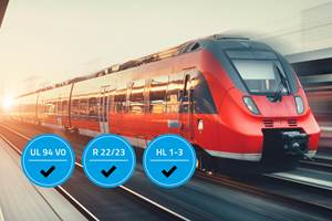 Materials: First Flame-Retardant TPE to Meet Standard for Railway Applications