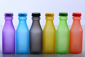 Additives:Translucent 'Frost' Effect Colorants for PET Bottles