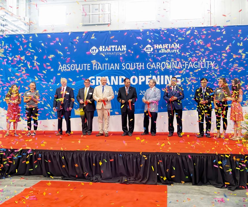 While cutting the ribbon on this first U.S. assembly plant, Absolute Haitian is building an even larger assembly facility of similar design in Mexico.
