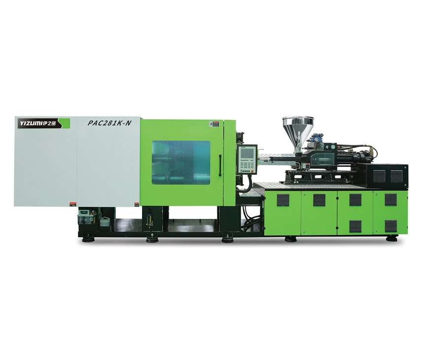 PAC383-K servohydraulic packaging machine needs no accumulators.