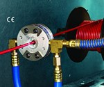Air Wipe for Small Diameter Pipe, Tubing, Cable