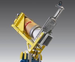 Materials Handling: Dust-Tight Drum Dumper