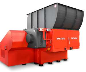 Weima WLK 1500 single-shaft shredder