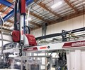 Dual-arm Wittmann Battenfeld W818S is one of the newer additions at R&D Plastics.