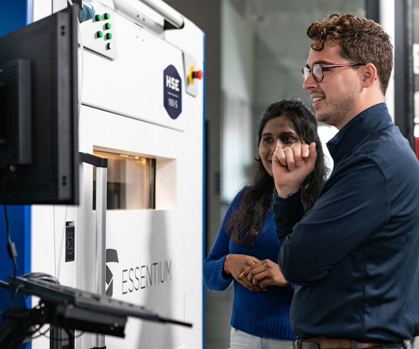 Essentium HSE printing platform