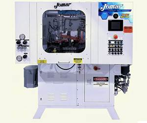 "Jomar's new ""entry-level"" Model 25, its smallest machine."