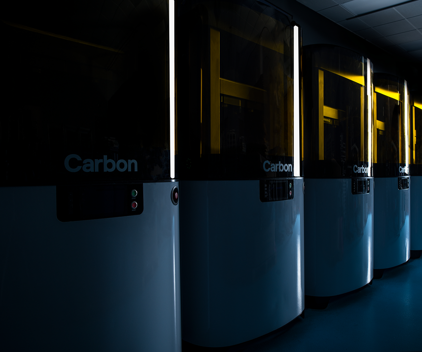 row of Carbon L1 printers