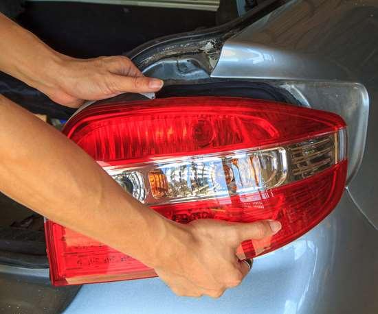3d-printed car tail light