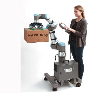 New high-payload UR16e cobotfrom Universal Robots.